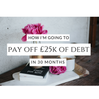How I'm going to pay off £25,000 of debt in 30 months